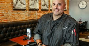 Chris Pavlou is in competition for Chef of Steel