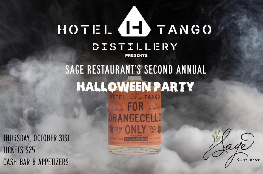 Sage Halloween Party