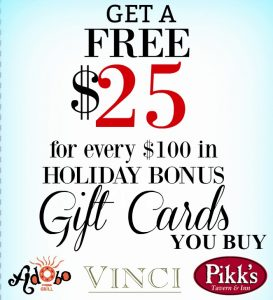 Free $25 Gift Card Gift Card