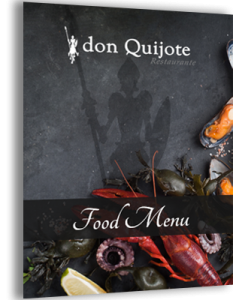 don quijote menu for outdoor dining