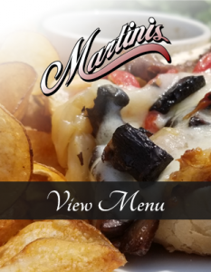 Martini's is a established outdoor dining destiny and newest memebr of the downtown Valpo restaurants