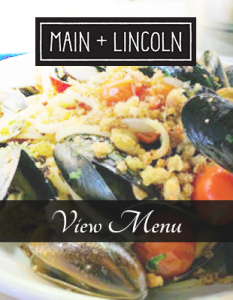 Main + Lincoln outdoor dining